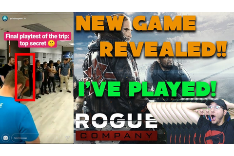 Rogue Company Reveal | New Hi-Rez Game | I PLAYED IT ...