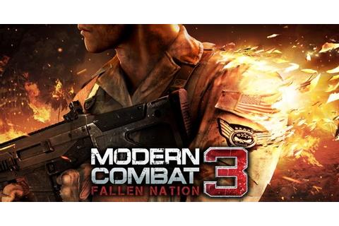 Modern Combat 3: Fallen Nation on Qwant Games