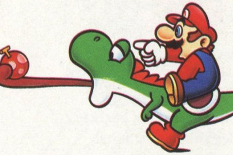 Super Mario World originally had Yoshi getting punched in ...
