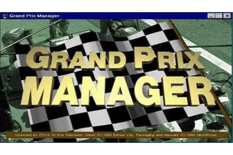 Grand Prix Manager gameplay (PC Game, 1995) - YouTube
