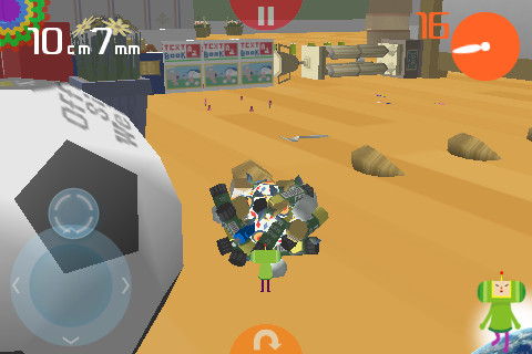 Katamari Amore Review | TouchArcade