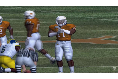 NCAA Football 2005 PS2 Gameplay HD - YouTube