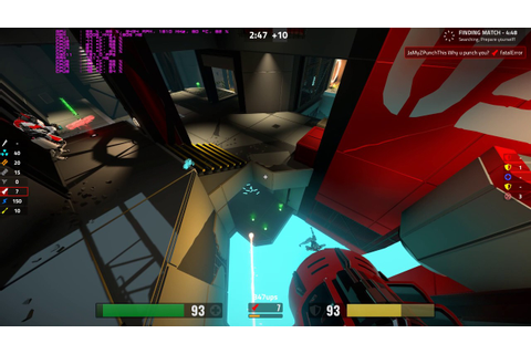 Reflex Arena PC Gameplay with bots - A game like Quake III ...
