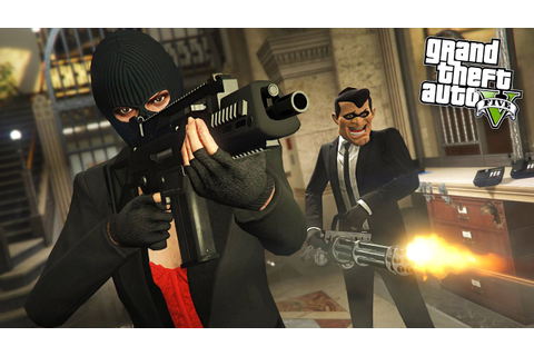 GTA 5 HEIST - BIGGEST BANK ROBBERY!! (Final Heist) - YouTube