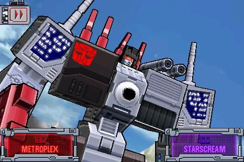 iPhone game of the day: Transformers: G1 Awakening ...