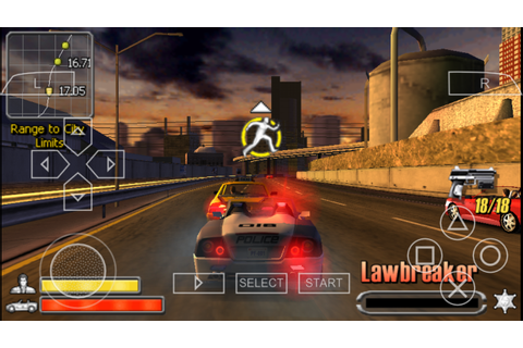 Pursuit Force PSP CSO Free Download & PPSSPP Setting ...