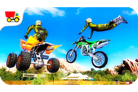 Bike Racing Games - 2XL MX Offroad gameplay Off-road games ...