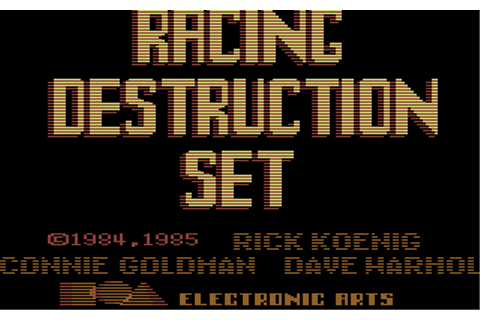 Racing Destruction Set Details - LaunchBox Games Database
