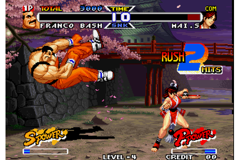 Real Bout Fatal Fury Special (1997) by SNK Neo-Geo game