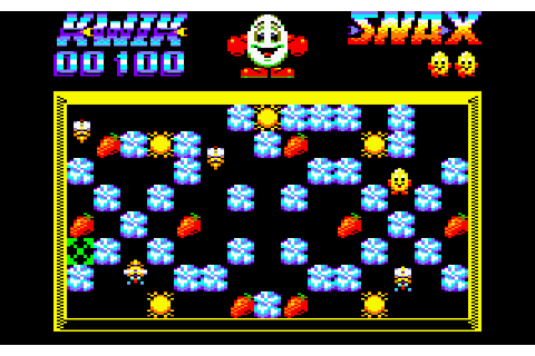 Kwik Snax (1990) by Codemasters Amstrad CPC game