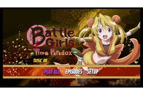 Through the mailbox: Battle Girls: Time Paradox - Complete ...
