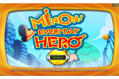Minon - Everyday Hero for Nintendo Wii - The Video Games ...