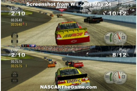 NASCAR The Game: 2011 Review « Nintendojo