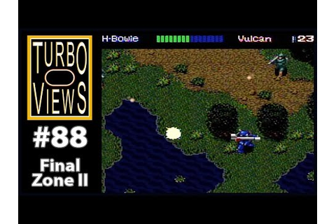 """Final Zone II"" - Turbo Views #88 (TurboGrafx-16 / Duo ..."