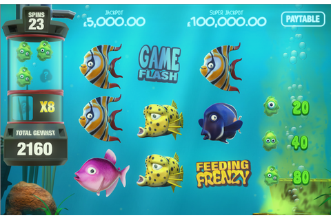 New Tablet Slots: Magnet Gaming releases Fish Tank Slot