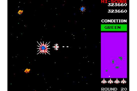 Arcade Game: Bosconian - Star Destroyer (1981 Namco) - YouTube