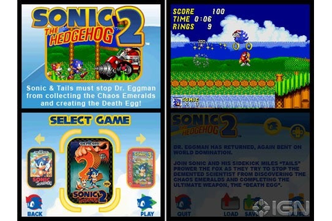 Sonic Classic Collection Review - IGN