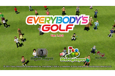 Everybody's Golf (PS4) - How to Play Local Multiplayer ...