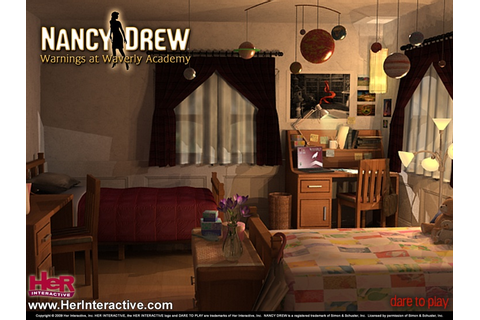 Dorm room at Waverly Academy from Nancy Drew: Warnings at ...