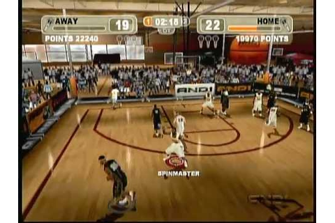 And 1 Street Ball (X Box) Game Play - YouTube