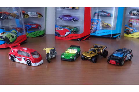 HOTWHEELS X GAMES 5 CAR PACK - YouTube