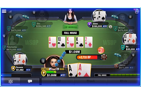 World Series of Poker – WSOP Free Texas Holdem - Apptica