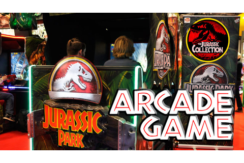 Jurassic Park | New Arcade Game - YouTube