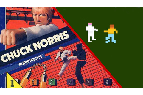 LAY OFF THE GRASS - Chuck Norris Superkicks w/The Hole ...