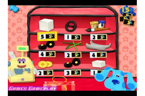 Blues Clues Games 123 Time Activities Big Prize - YouTube