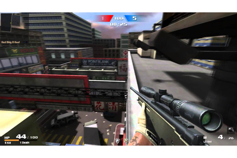 Garena Point Blank - Sniper Gameplay Preview - YouTube