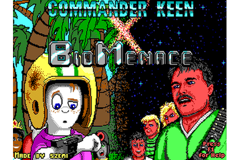 Commander Keen X Bio Menace file - Mod DB