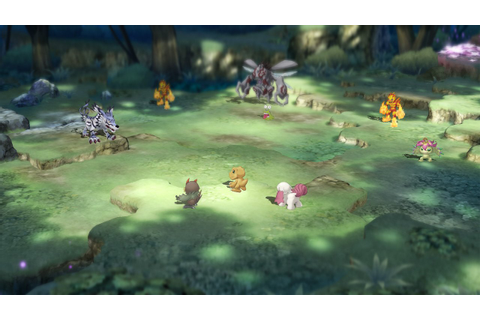 First Digimon Survive Gameplay Mixes Talking with Turn ...