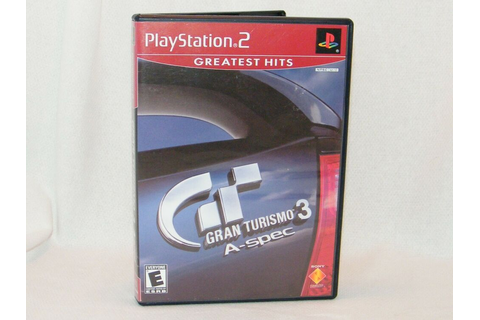 Gran Turismo 3 A-spec - Greatest Hits Sony PlayStation 2 ...