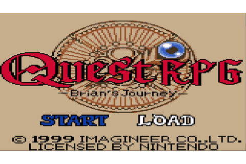 Quest RPG - Brian's Journey (USA) ROM