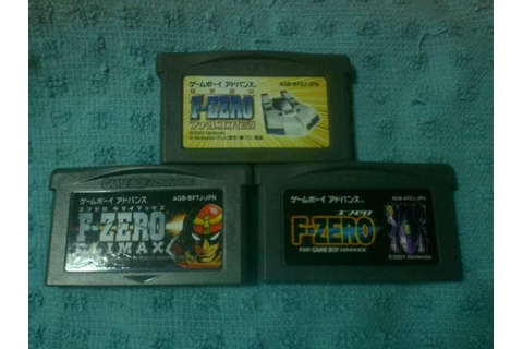 Used F-ZERO CLIMAX Game Boy Advance3Set GBA Legend CLIMAX ...