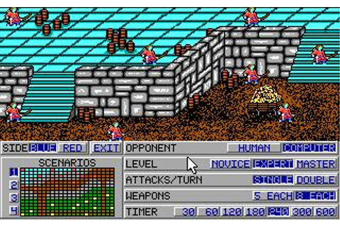 Medieval Warriors Download (1991 Strategy Game)