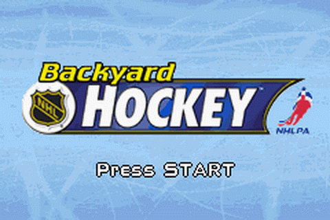Play Backyard Hockey Nintendo Game Boy Advance online ...