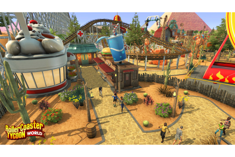 RollerCoaster Tycoon World's focus on freedom makes it ...