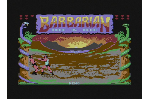 Review: Barbarian: The Ultimate Warrior on Commodore 64