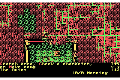 Download Wizard's Crown rpg for DOS (1987) - Abandonware DOS