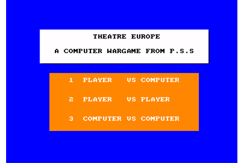 Download Theatre Europe - My Abandonware