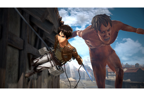 Attack on Titan 2 (Switch) releasing in March, more ...
