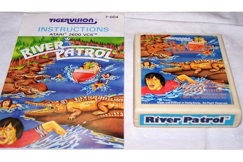 RIVER PATROL - Coin Op (1981) | RETROGAMING PLANET