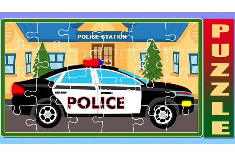 Car Game | Puzzle Game | Car Puzzle | Police Car Cartoon ...
