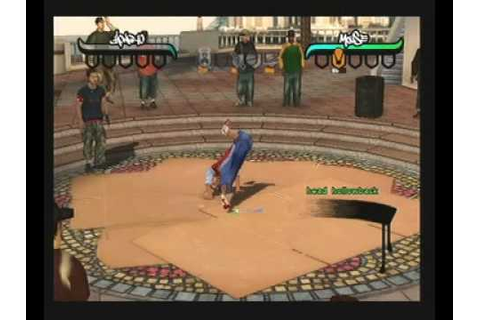 B Boy For Playstation 2 Gameplay PS2 break dance game ...