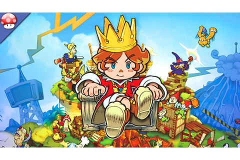 Little King's Story Gameplay (PC HD) - YouTube