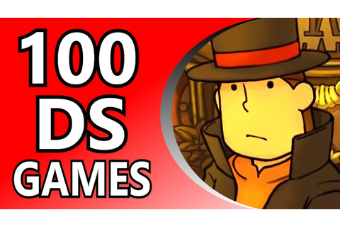 Top 100 DS Games (Alphabetical Order) - YouTube