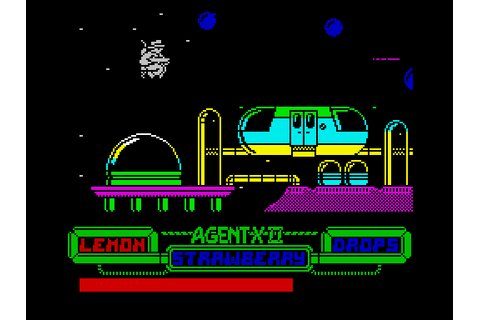 Agent X II: The Mad Prof's Back! screenshots for ZX Spectrum
