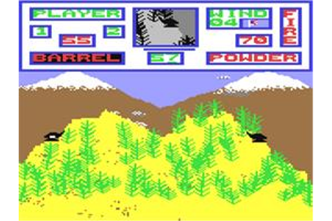 Artillery Duel - Commodore 64 - Games Database