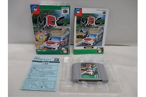 N64 -- Multi Racing Championship -- Box. Nintendo 64 ...
